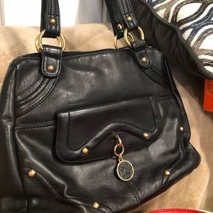 All leather sexy shoulder bag